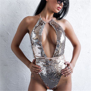2019 Abussy Sequin Bodysuit