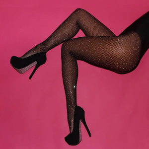 Agido - Brilliant Rhinestone Stockings