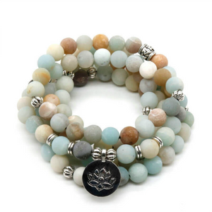 108 Lives - Amazing Amazonite Mala Bracelet