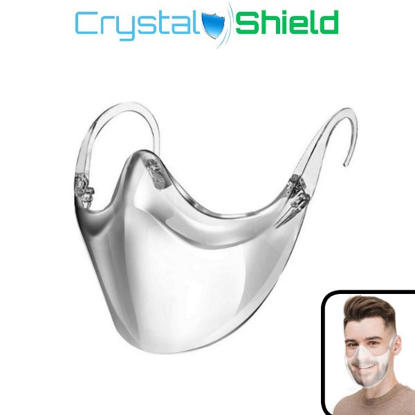 CrystalShield - Protective Transparent Mask