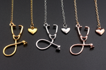 Stethoscope Sharm Necklace