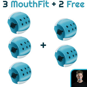3 MouthFit - Facial Exercise Device (Buy 3, Get 2 FREE!)