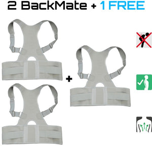 2 BackMate™ + 1 FREE - Posture Corrective Therapy For Men & Women