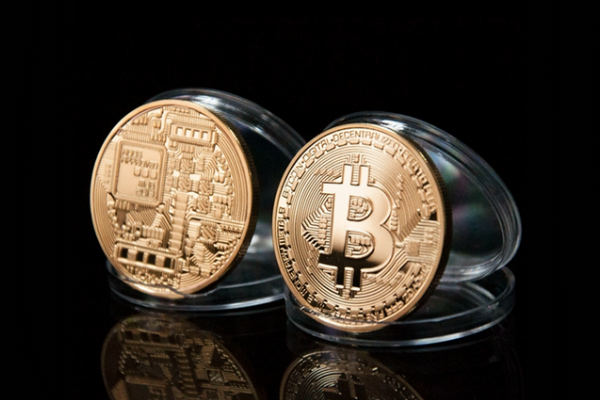 Real BTC - Gold Plated BTC Coin for Your Collection