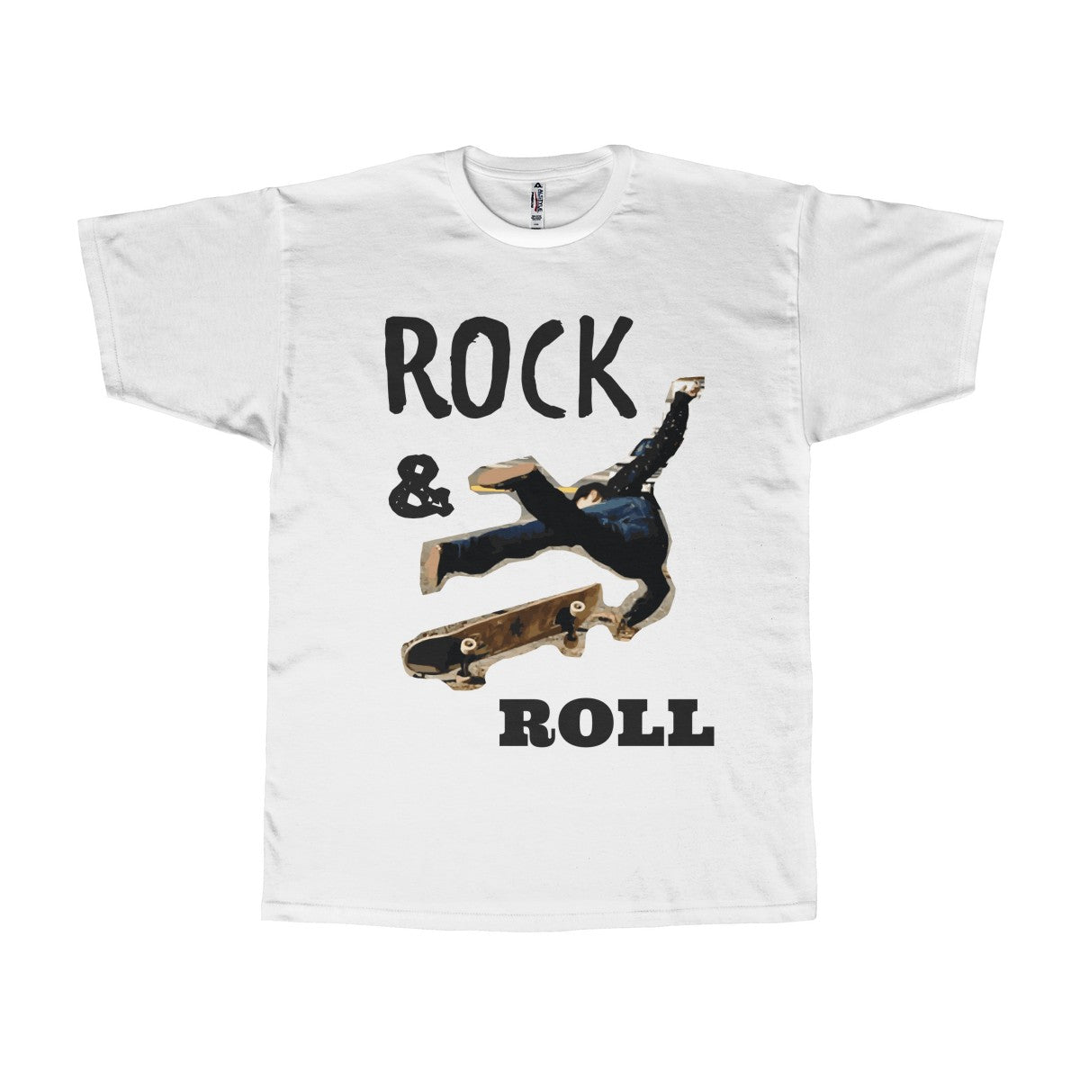 Rock & Roll Unisex Adult Tee
