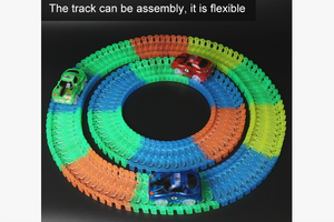 Glow in the Dark - Racing Track