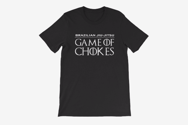 BJJ Game of Chokes - T-Shirt