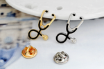 FREE! STETHOSCOPE PIN BROOCH (LIMITED QUANTITY)