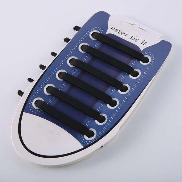 Trilane — Elastic Silicon Shoelaces