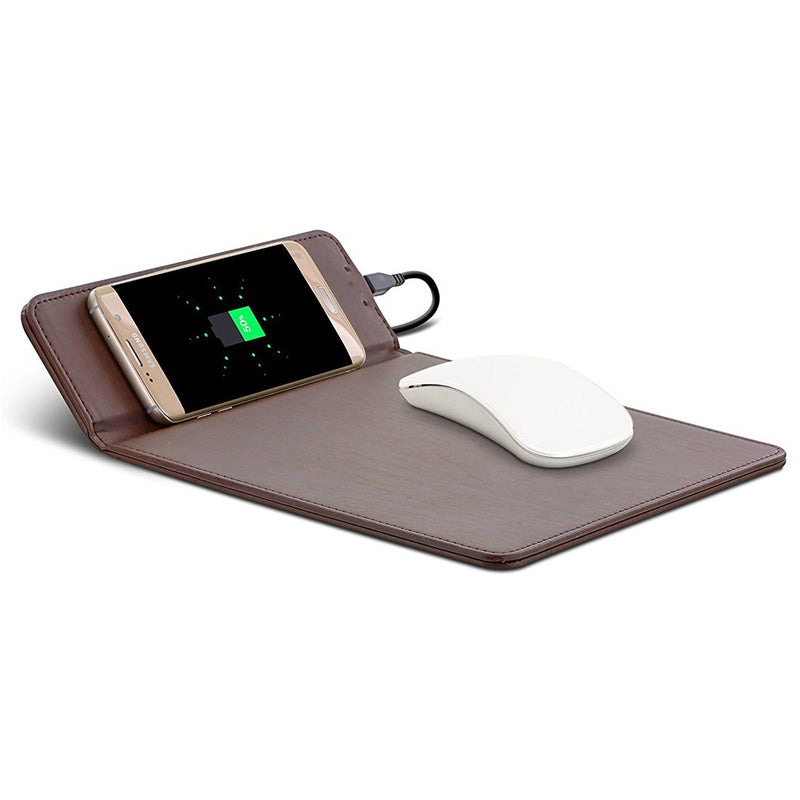 Flipad — Ergonomic Folding Mouse Mat with Wireless Charging Pad