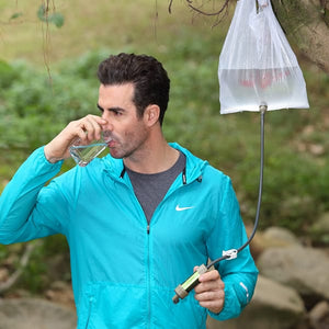 DrinkWell 2000 — Instant Mini Water Filter for Any Outdoor Use