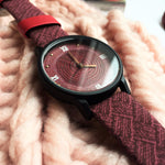Mindo — Wooden Retro Women Watch