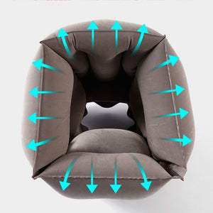 SleepSpan — Inflatable Multifunctional Travel Pillow