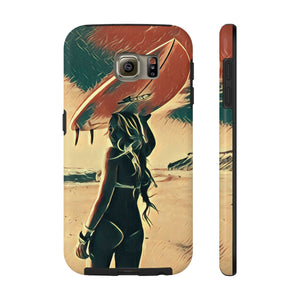 Mentawai Islands Girl — Case Mate Tough Phone Cases