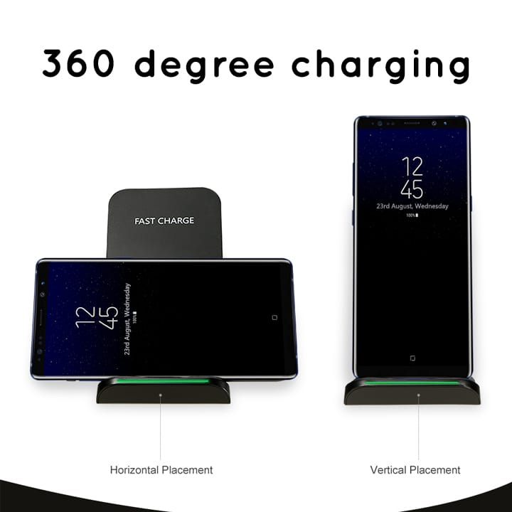 AirStand — Elegant Dock Station Stand with Built In Wireless Charger
