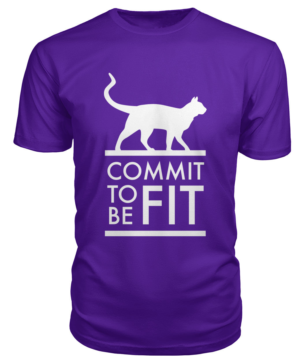 Commit to Be Fit - Unisex Premium T-Shirt