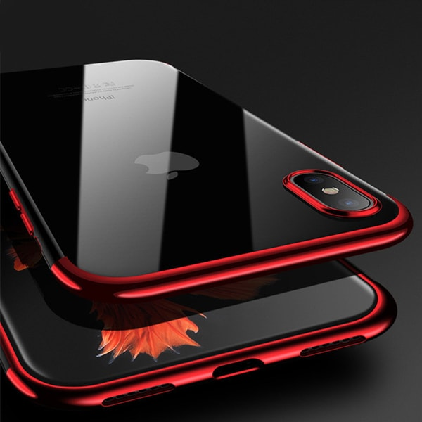 Crystal X - Ultra Premium Frame Color Case Cover for iPhoneX Premium Luxury