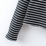 Zebratty — Women Striped Turtleneck