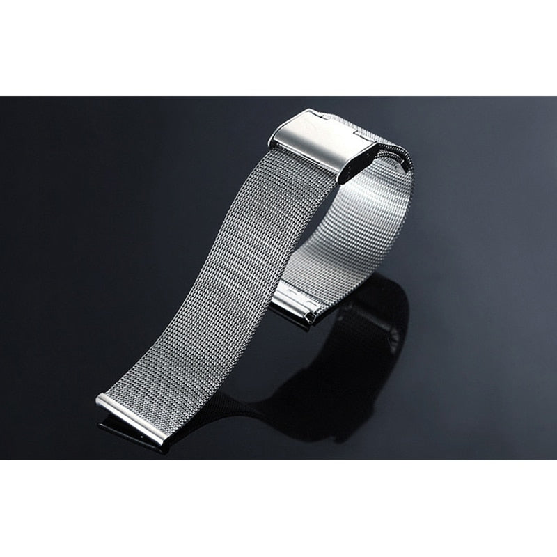 Replacement Stainless Steel Band Strap For Smart HeartWatch
