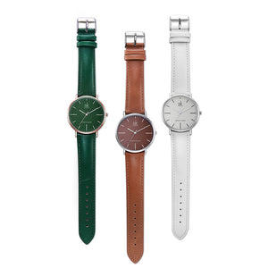 Avaya — Elegant Leather Women Watch