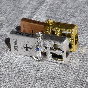 Lavo — The Miniature Bible Key Ring Charm Gift