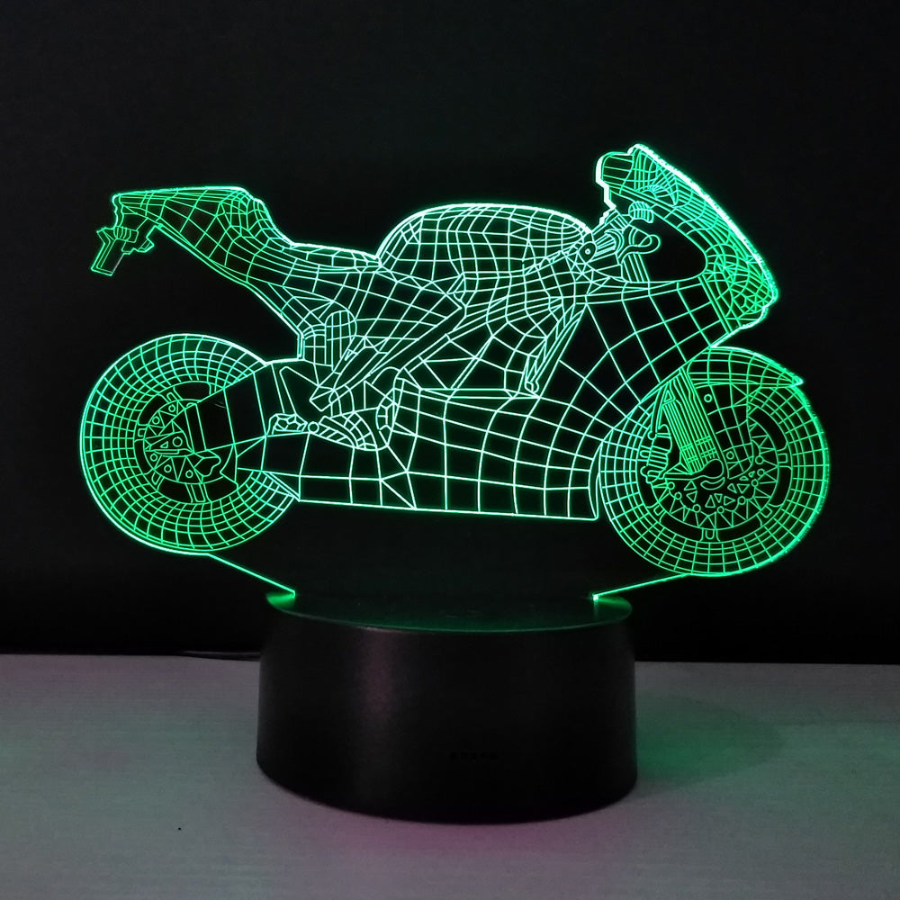 Vivo — 3D Motorcycle Projection Table Lamp