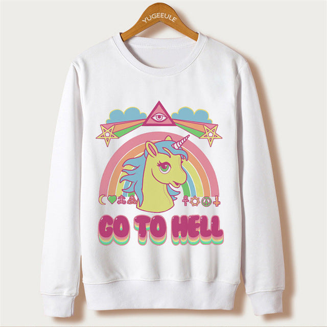 Unicorns Are Awesome Pullover