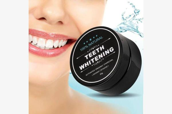White's Fresh - Activated Charcoal Whitening Powder