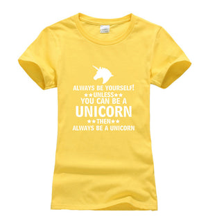 Unless You Can Be a Unicorn - Premium Unisex T-Shirt