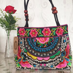 Mybridge — Embroidery Flower Handbag