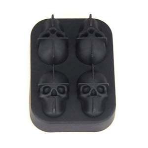 Cold Head - 3D Skull Ice Cube Molds