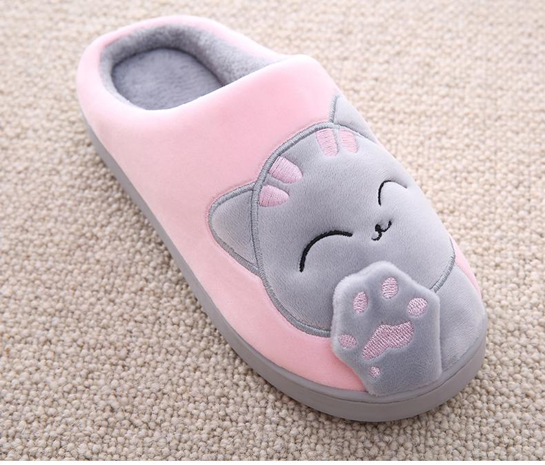 Slippy Cat - Cozy Cat Paw Slippers