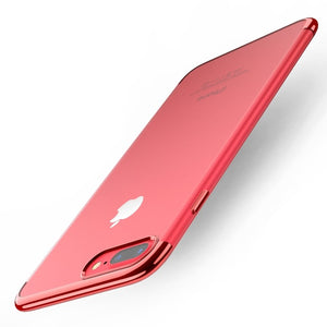 Slim Luxury Plating Frame Case For iPhone 6 / 7 / 8 / X