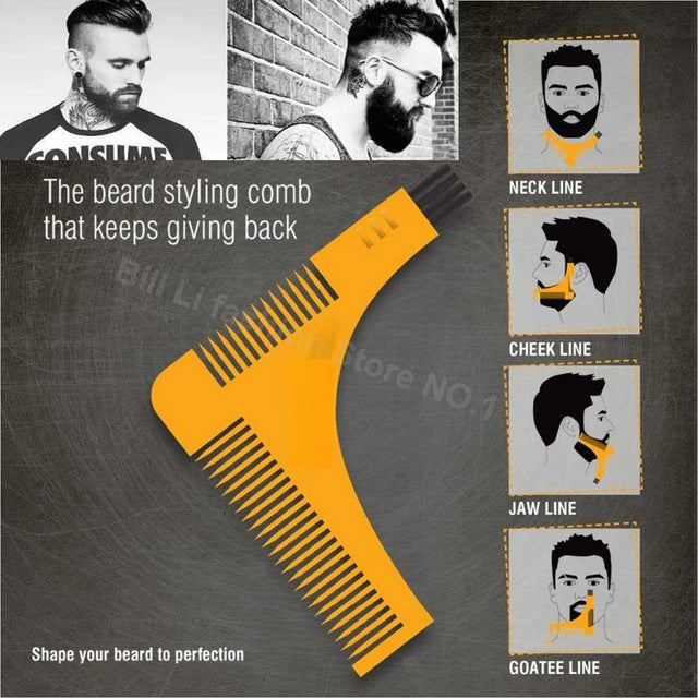 Easy Beard Pro -  Any Beard Shape Trimmer Helper