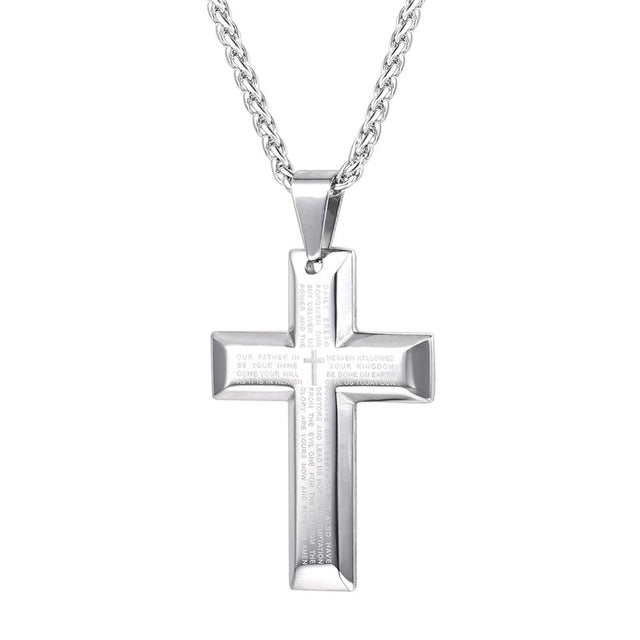 Quabo — Massive Polished Stainless Steel Cross