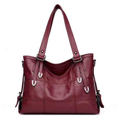 Kimbee — Patchwork Eco Leather Handbag
