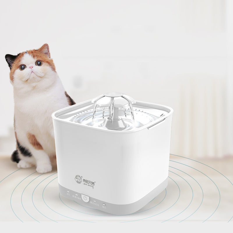 SmartBro Drink Fountain — Automated Pet Drink Source with Presence Detection