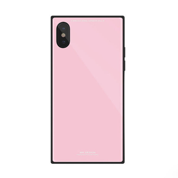 more photos 719ff 96726 Square X — Luxury Fashion Square Tempered Glass Case For iPhone X ...