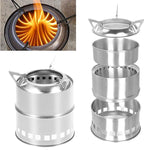 Firefury — Stainless Steel Camping Stove
