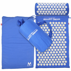 Master Acupressure Mat and Pillow Set - Blue Sky