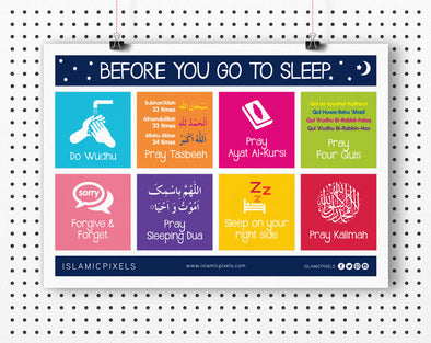 Sleep Checklist for Adults and Children