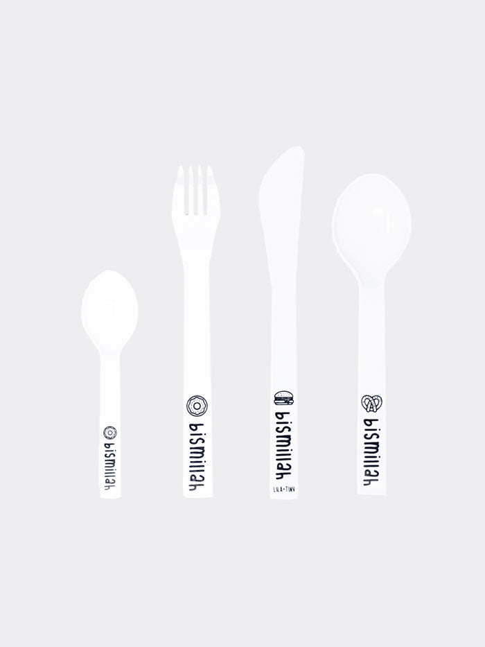Childs Bismillah Cutlery Set