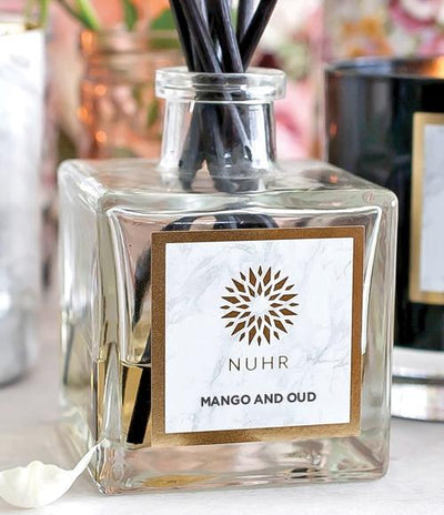 Mango & Oud Luxury Reed Diffuser