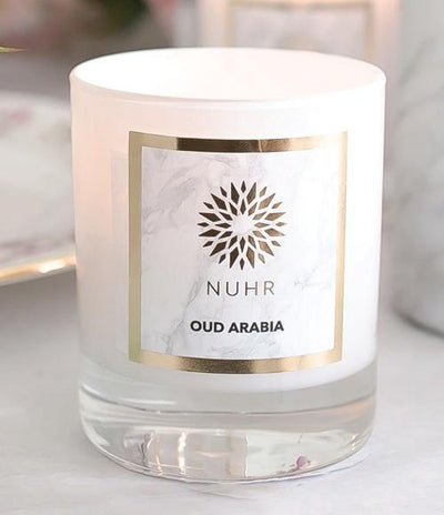 Oud Arabia Luxury Scented Candle