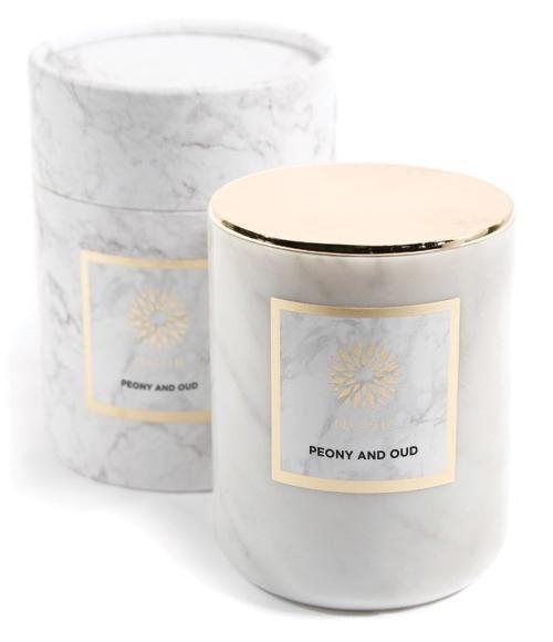 Peony & Oud Luxury Scented Candle