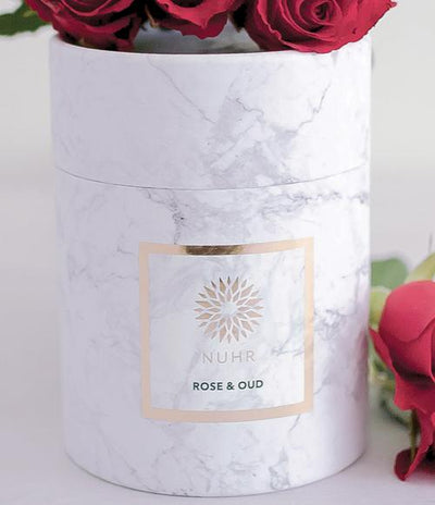 Rose & Oud Luxury Scented Candle