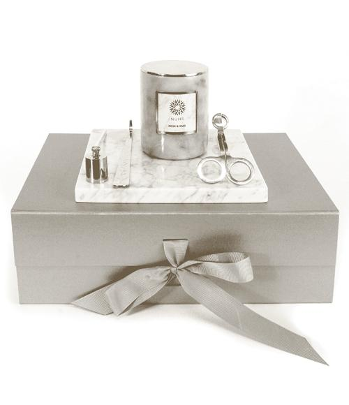 Rose and Oud Luxury Marble Hamper