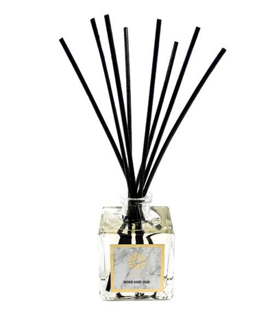 Rose & Oud Luxury Reed Diffuser
