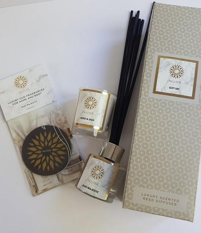 Oud Woods 'Home Scenting' Gift Set