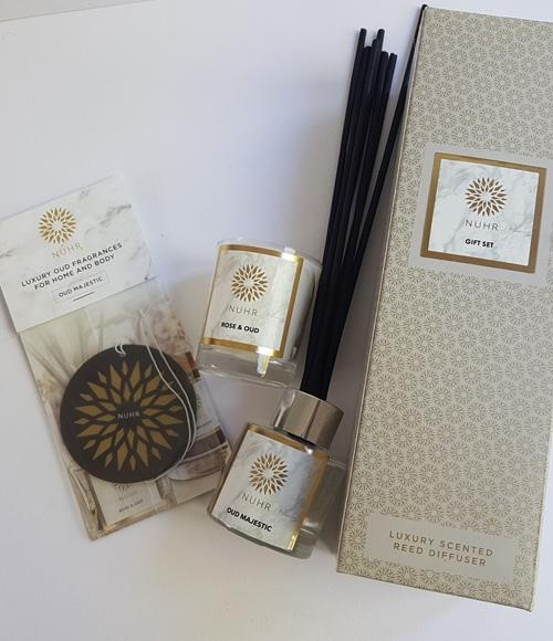 Rose & Oud 'Home Scenting' Gift Set